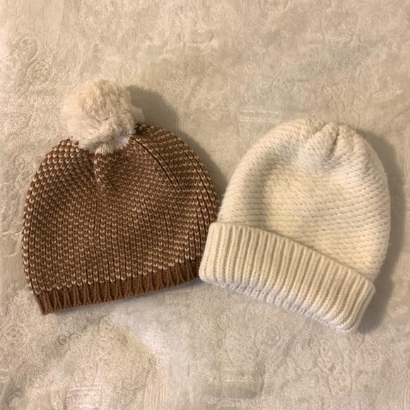 J. Crew and Merona Knit Beanie Bundle